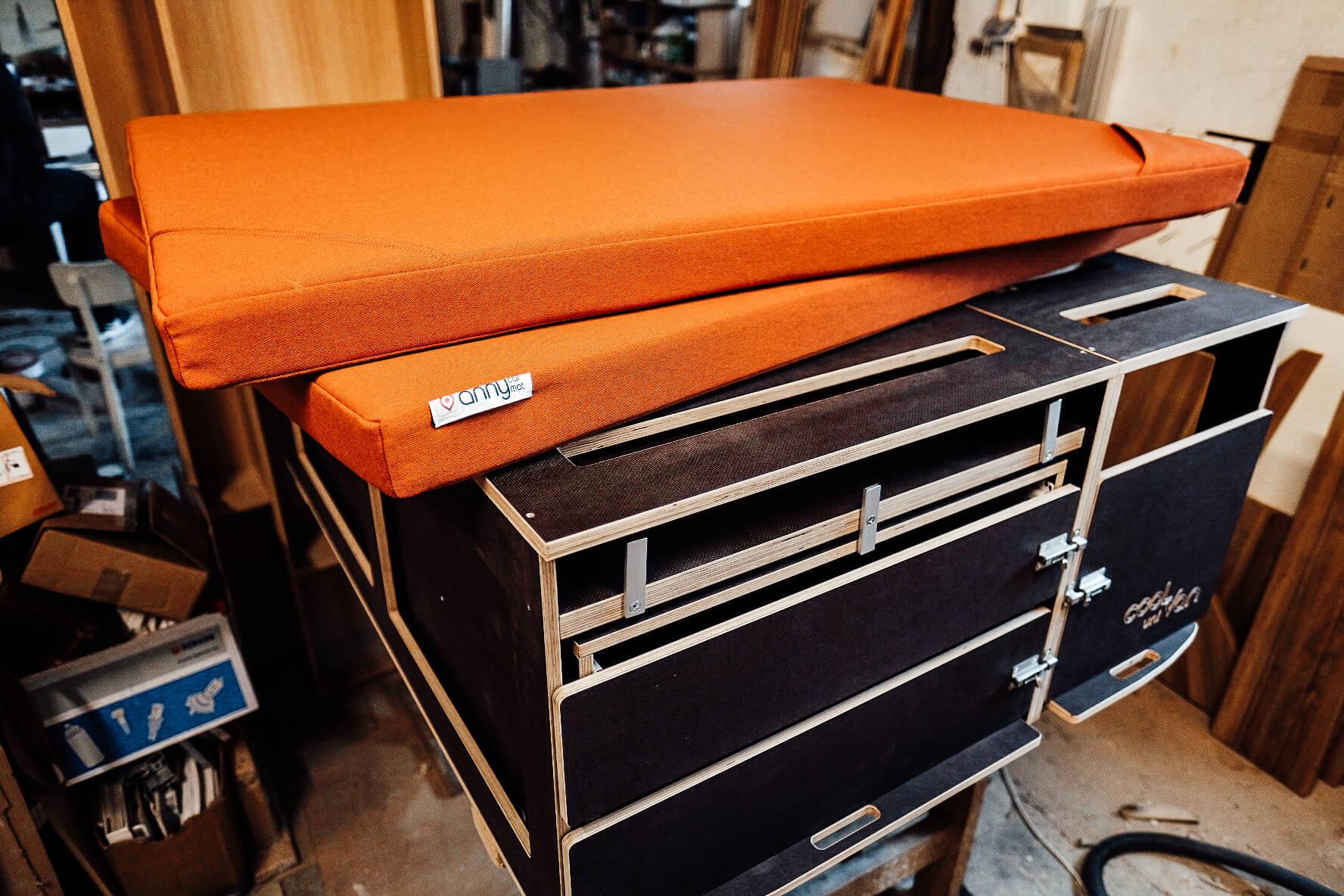 matrace do dodávky